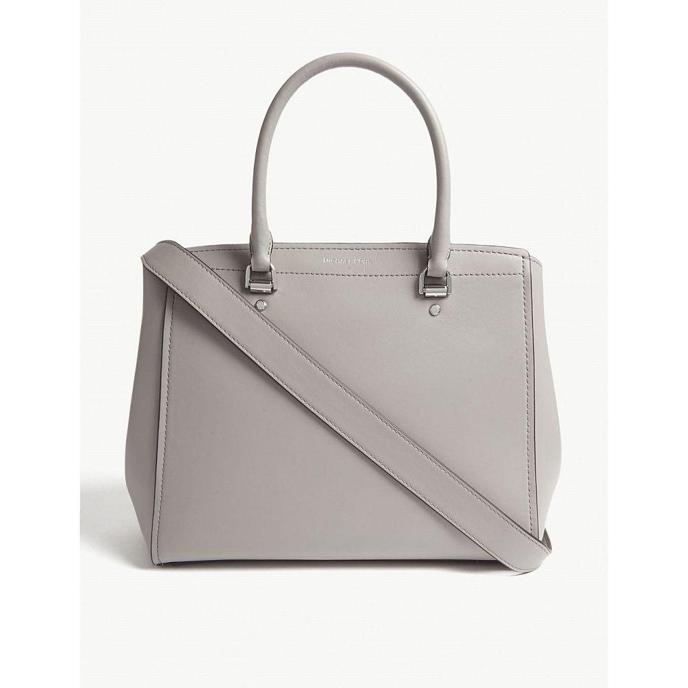 マイケル コース michael michael kors レディース バッグ トートバッグ【benning large leather messenger bag】Pearl grey