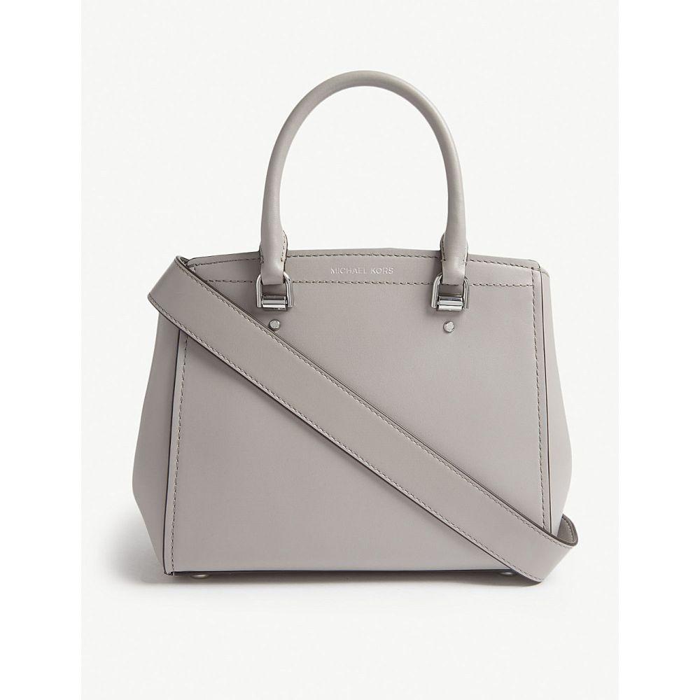 マイケル コース michael michael kors レディース バッグ ハンドバッグ【benning leather messenger bag】Pearl grey