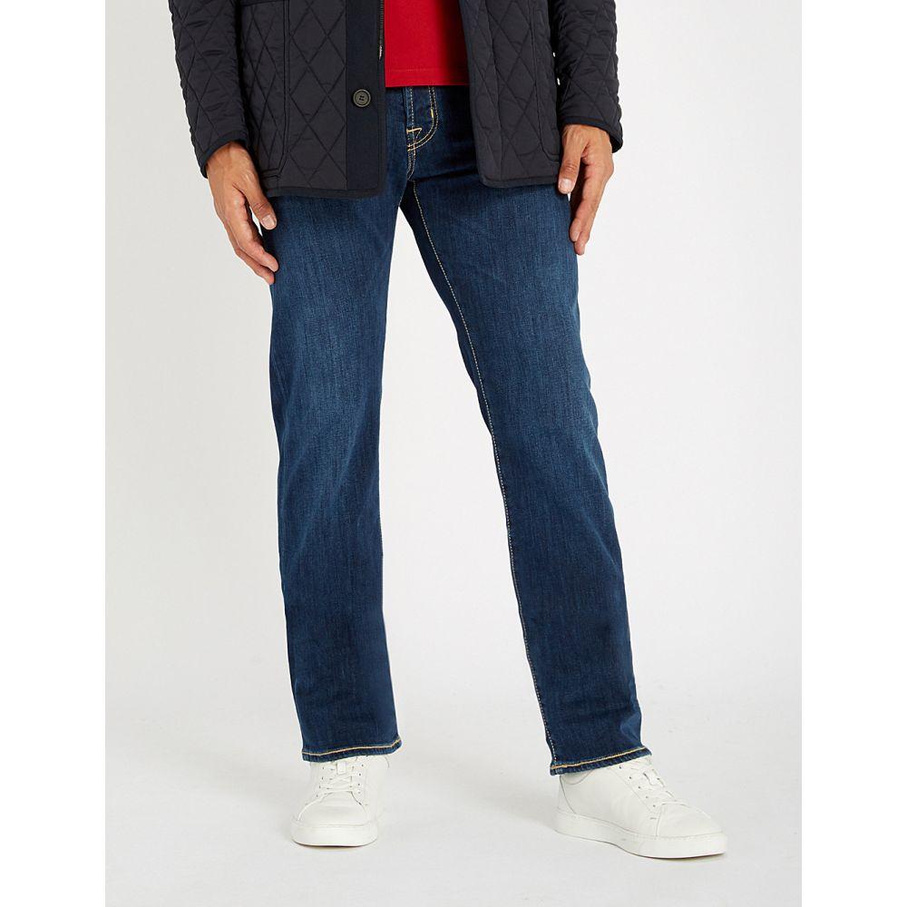 ヤコブ コーエン jacob cohen メンズ ボトムス・パンツ ジーンズ・デニム【tailored-fit straight jeans】Blue