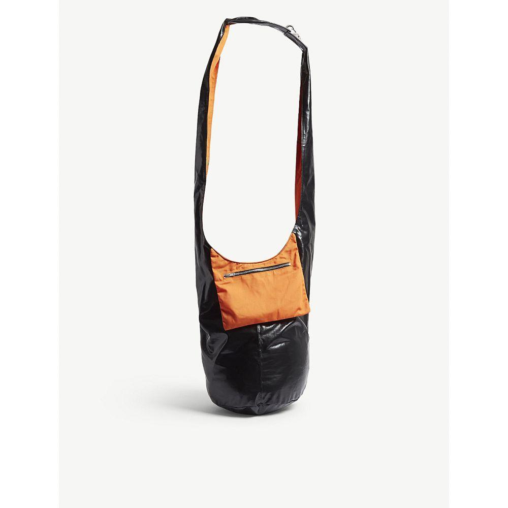 ラフ シモンズ raf simons レディース バッグ ショルダーバッグ【twisted patent shoulder bag】Orange