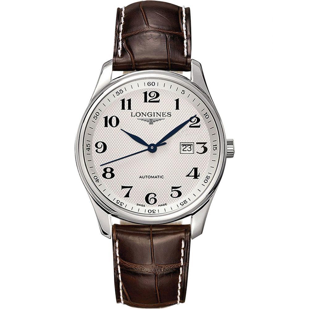 ロンジン longines メンズ 腕時計【l2.893.4.78.3 saint-imier stainless steel watch】White