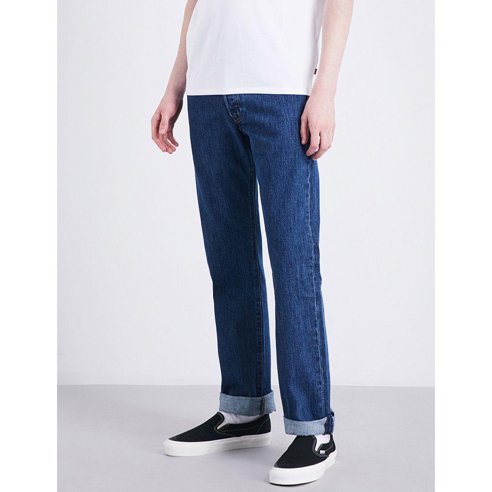 リーバイス levi's メンズ ボトムス・パンツ ジーンズ・デニム【501 original regular-fit straight jeans】Stonewash