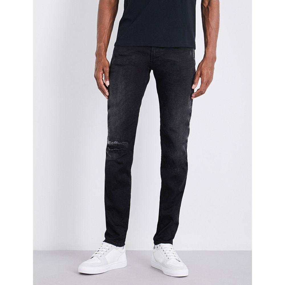 リプレイ replay メンズ ボトムス・パンツ ジーンズ・デニム【anbass hyperflex slim-fit skinny jeans】Black
