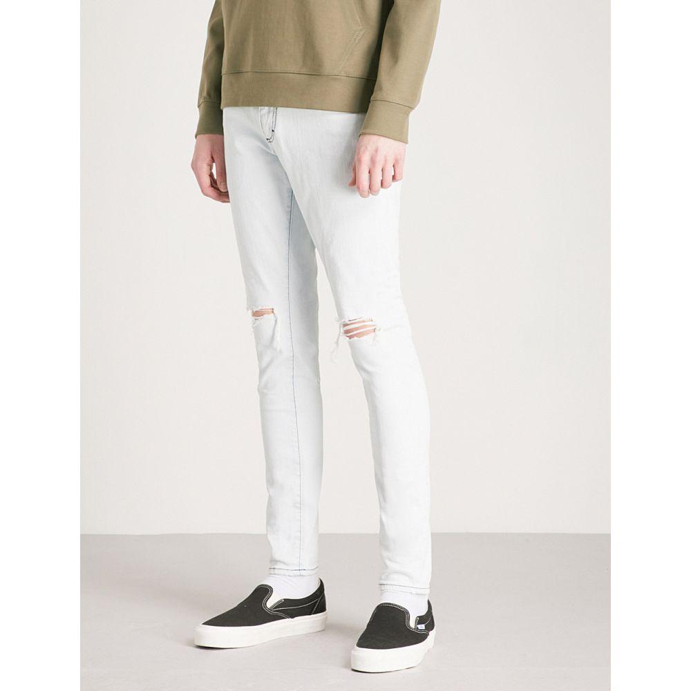 リプレゼント represent メンズ ボトムス・パンツ ジーンズ・デニム【destroyer slim-fit skinny jeans】Ice