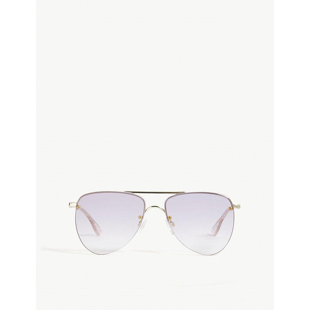 ル スペックス le specs レディース メガネ・サングラス【the prince aviator sunglasses】Gold