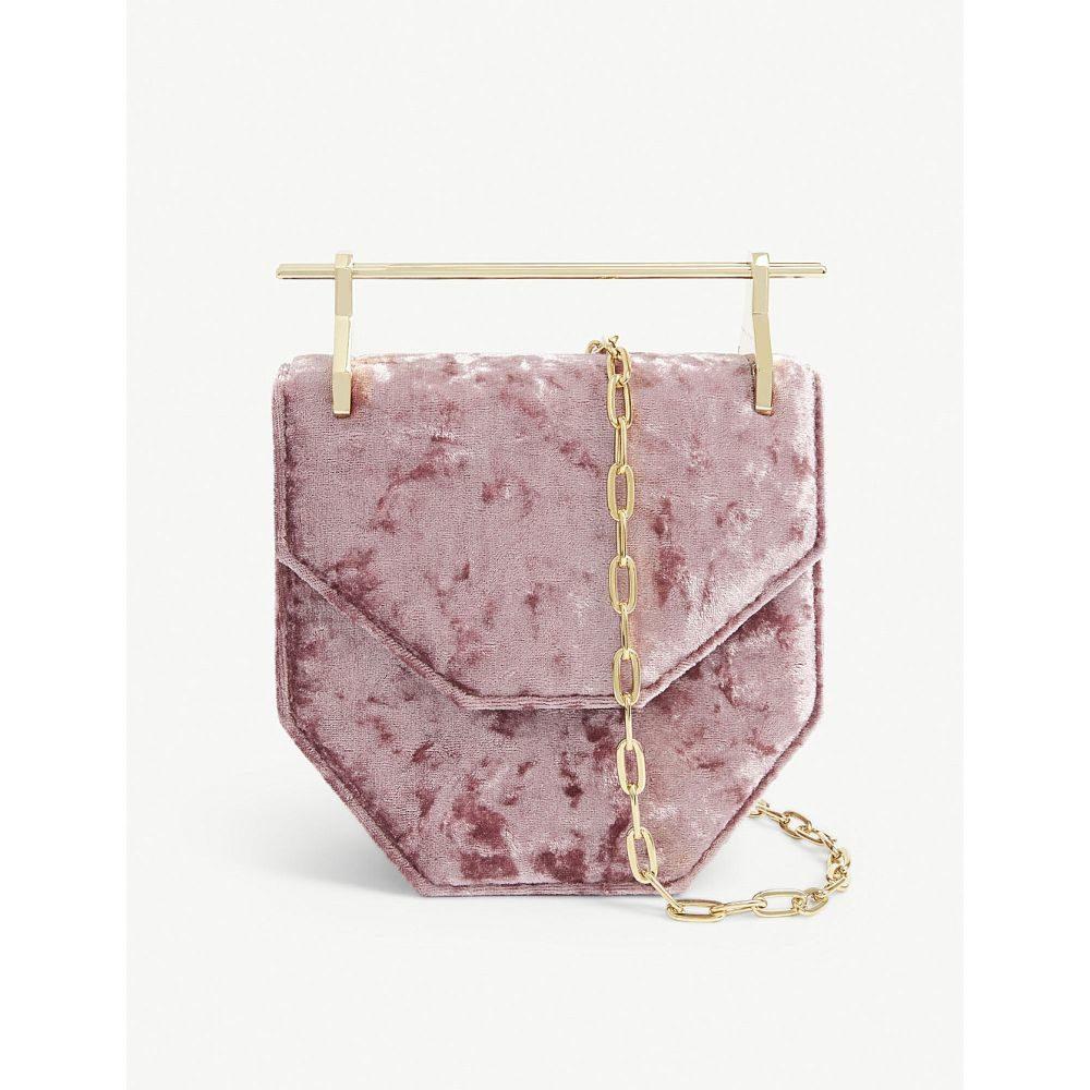 エムツーマレティエ m2malletier レディース バッグ ハンドバッグ【mini amor/fati velvet shoulder bag】Blush