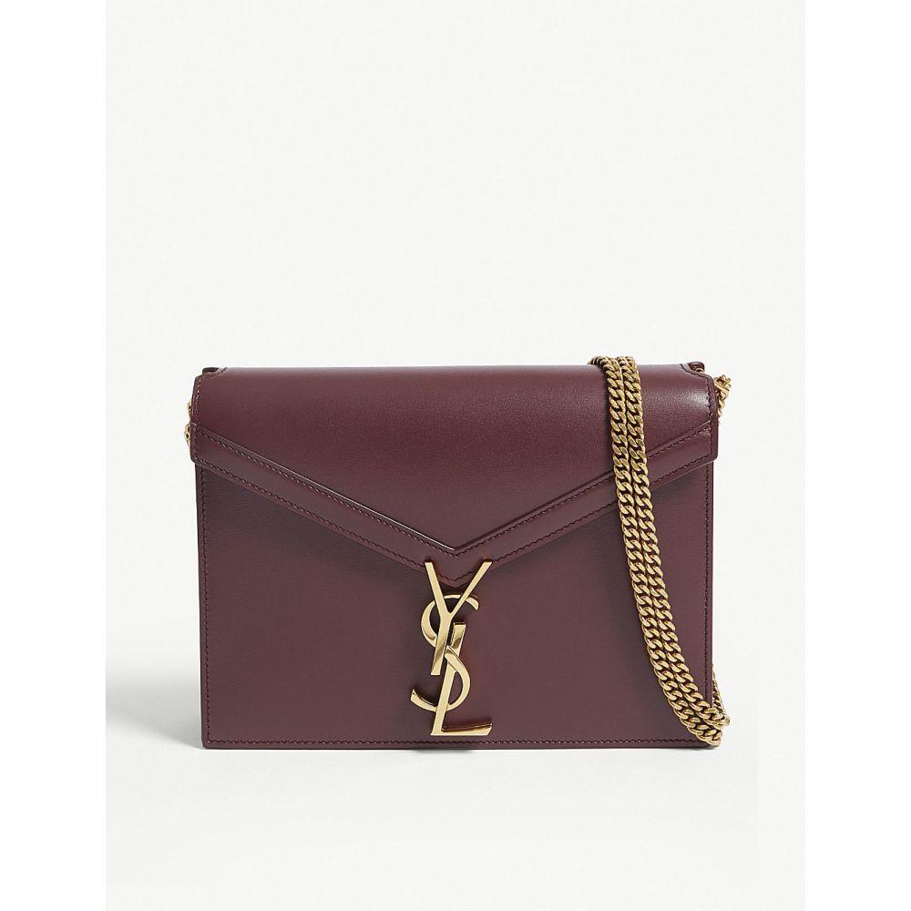 イヴ サンローラン saint laurent レディース バッグ ショルダーバッグ【cassandra shoulder bag】Burgundy