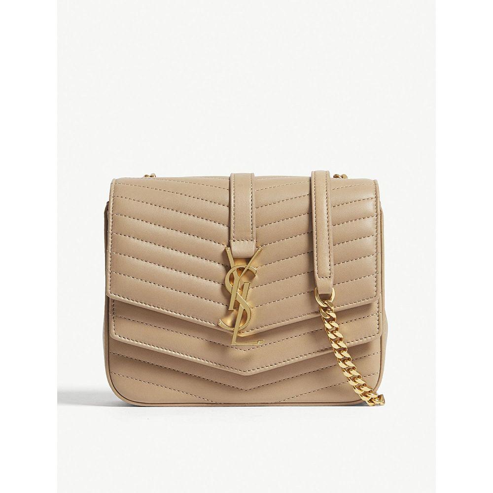 イヴ サンローラン saint laurent レディース バッグ ショルダーバッグ【sulpice small quilted leather cross-body bag】Sahara beige