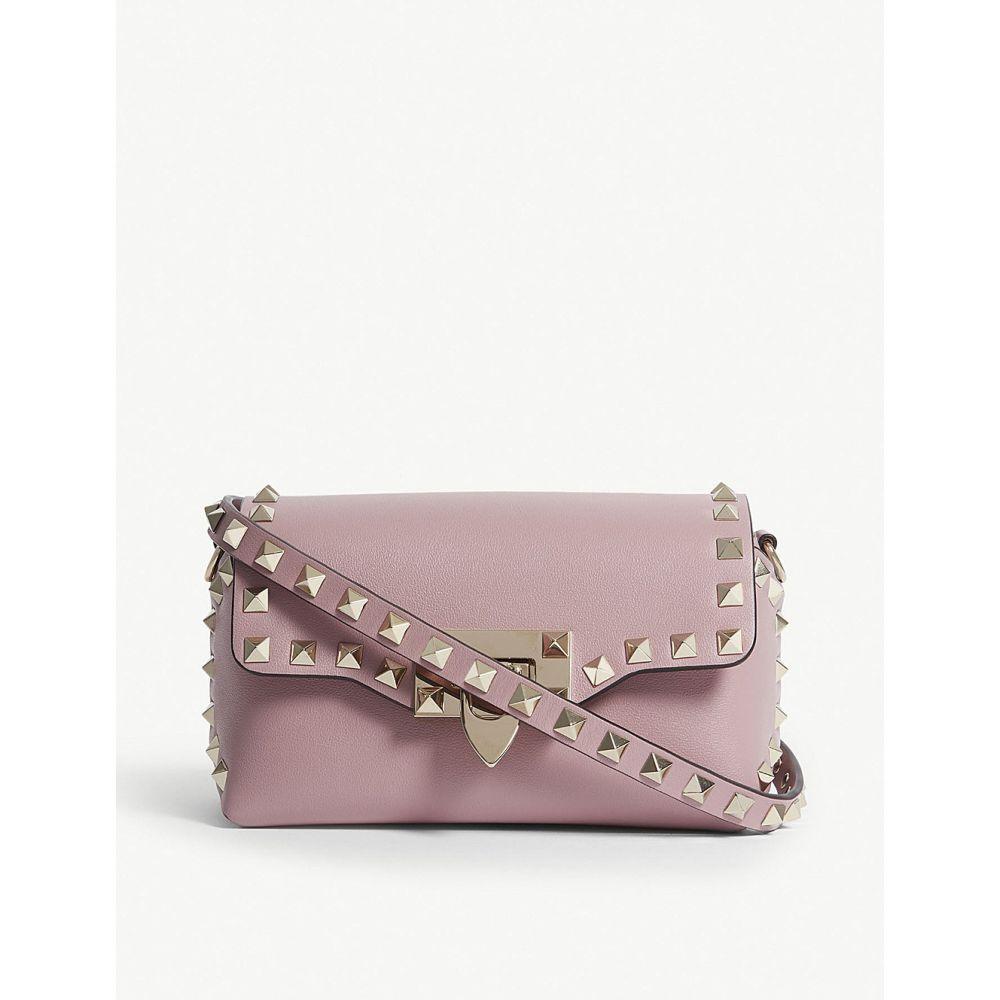 ヴァレンティノ valentino レディース バッグ ショルダーバッグ【rockstud leather cross-body bag】Lip pink