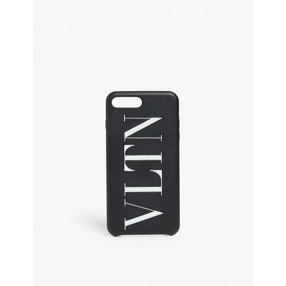 ヴァレンティノ valentino レディース iPhoneケース【logo iphone plus case】Black