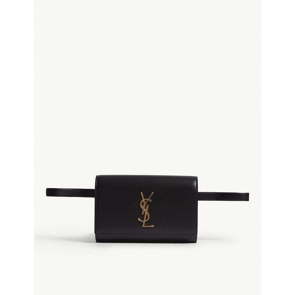 イヴ サンローラン saint laurent レディース バッグ ボディバッグ・ウエストポーチ【kate leather bum bag】Black/gold