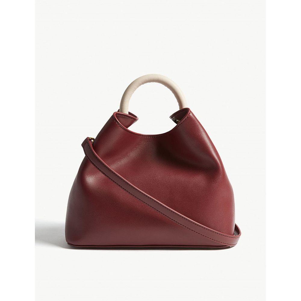 エルメ elleme レディース バッグ ハンドバッグ【baozi leather shoulder bag】Red prune/pink