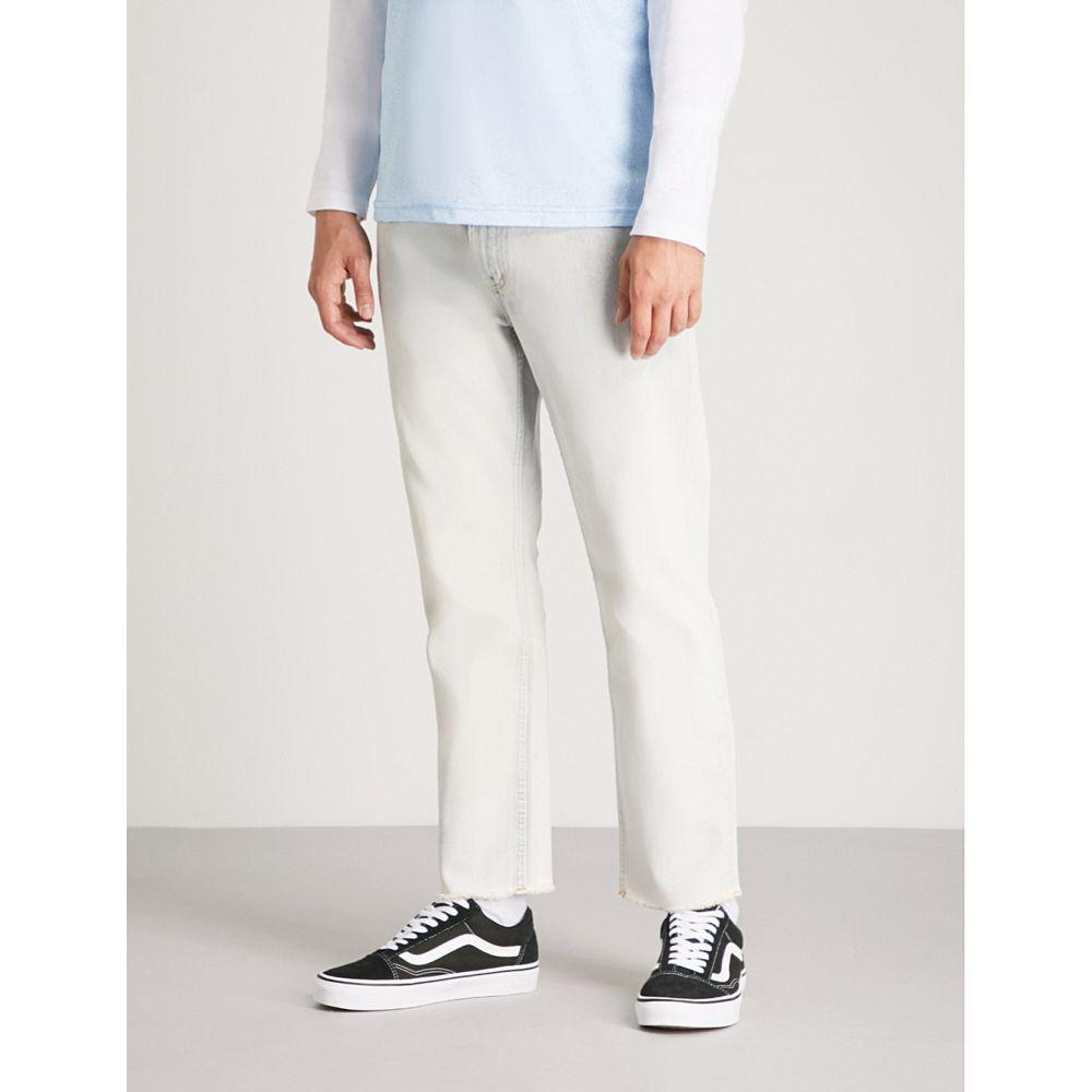 オベイ obey メンズ ボトムス・パンツ ジーンズ・デニム【new threat slim-fit straight jeans】Dip dye indigo