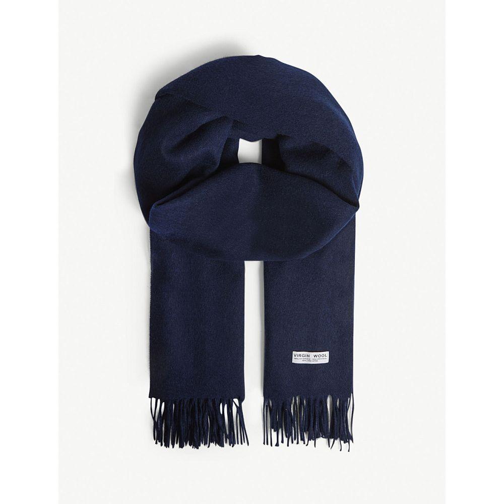 クローディ ピエルロ claudie pierlot レディース マフラー・スカーフ・ストール【alaska solid virgin wool scarf】Marine