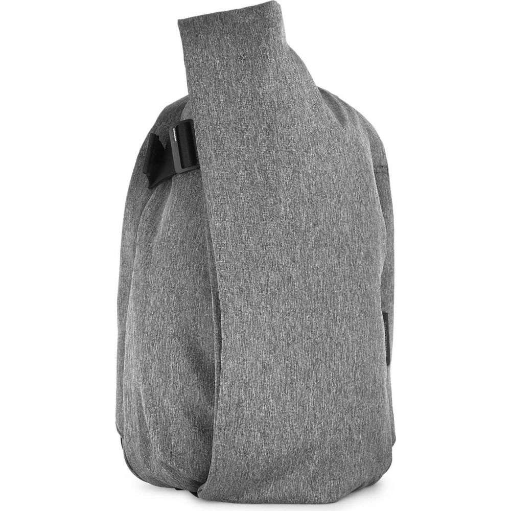 コート エ シエル cote & ciel メンズ バッグ バックパック・リュック【isar canvas backpack】Black melange