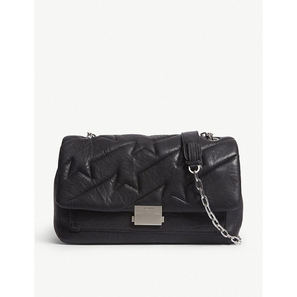 ザディグ エ ヴォルテール zadig & voltaire レディース バッグ ハンドバッグ【leather ziggy xl handbag】Noir