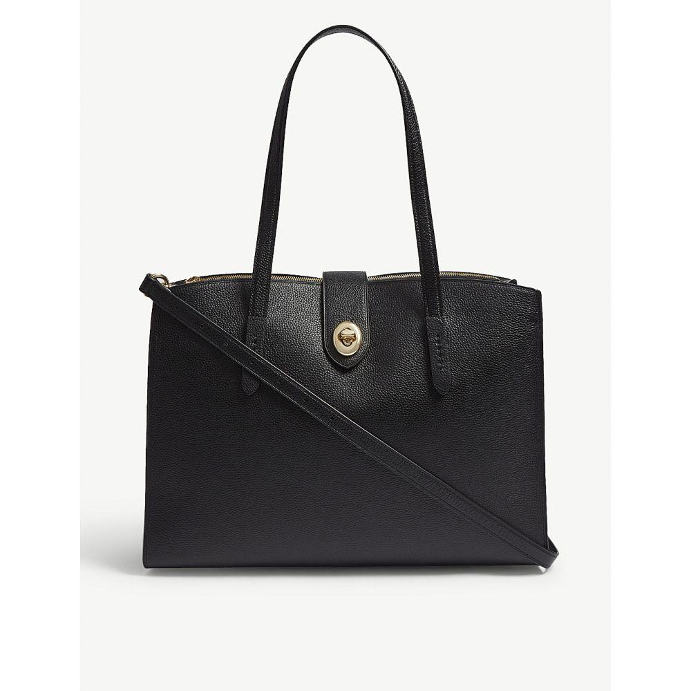 コーチ coach レディース バッグ トートバッグ【charlie carryall leather shoulder bag】Li/black