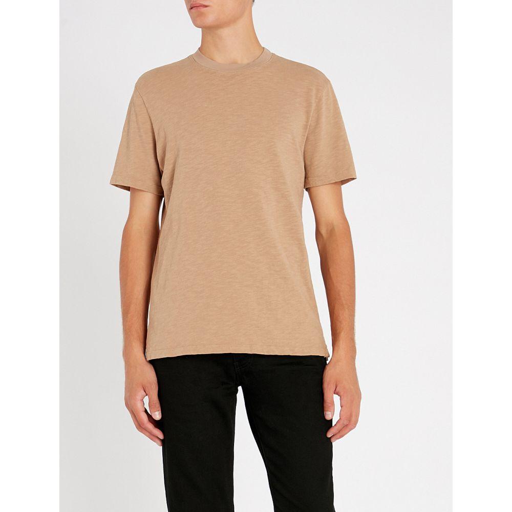 コットンシチズン cotton citizen メンズ トップス Tシャツ【presley cotton-jersey t-shirt】Dark tan