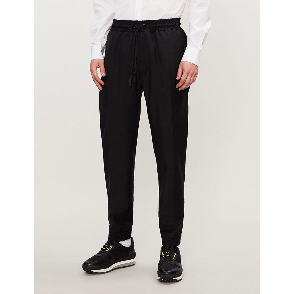ジバンシー givenchy メンズ ボトムス・パンツ【wool-blend jogging bottoms】Black