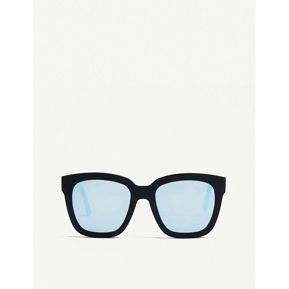 ジェントルモンスター gentle monster レディース メガネ・サングラス【dreamer hoff mirrored acetate sunglasses】Black blue