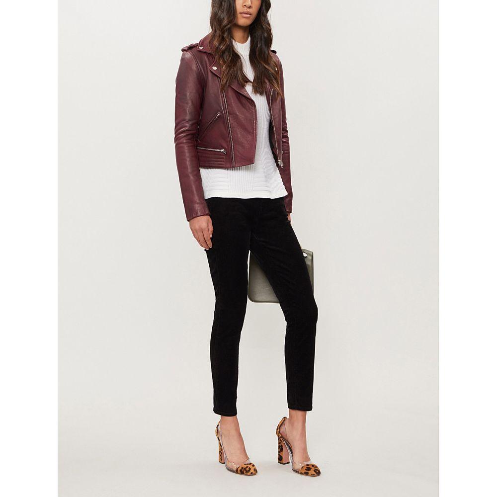 ジェイ ブランド j brand レディース ボトムス・パンツ ジーンズ・デニム【alana skinny high-rise corduroy jeans】Black