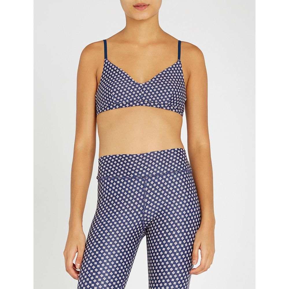 ジアップサイド the upside レディース インナー・下着 スポーツブラ【kravat ballet stretch-jersey sports bra】Navy/multi