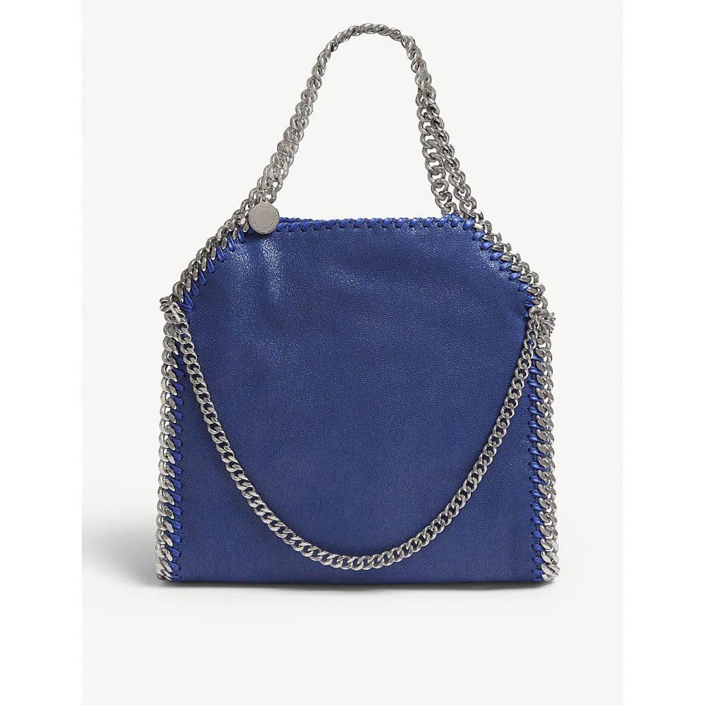 ステラ マッカートニー stella mccartney レディース バッグ トートバッグ【falabella faux-leather tote bag】Blue