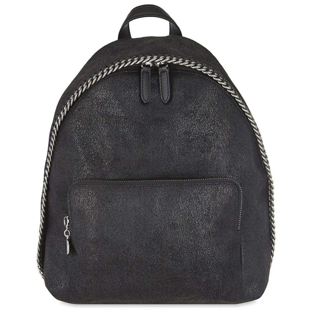 ステラ マッカートニー stella mccartney レディース バッグ バックパック・リュック【fallabella mini shaggy deer backpack】Black