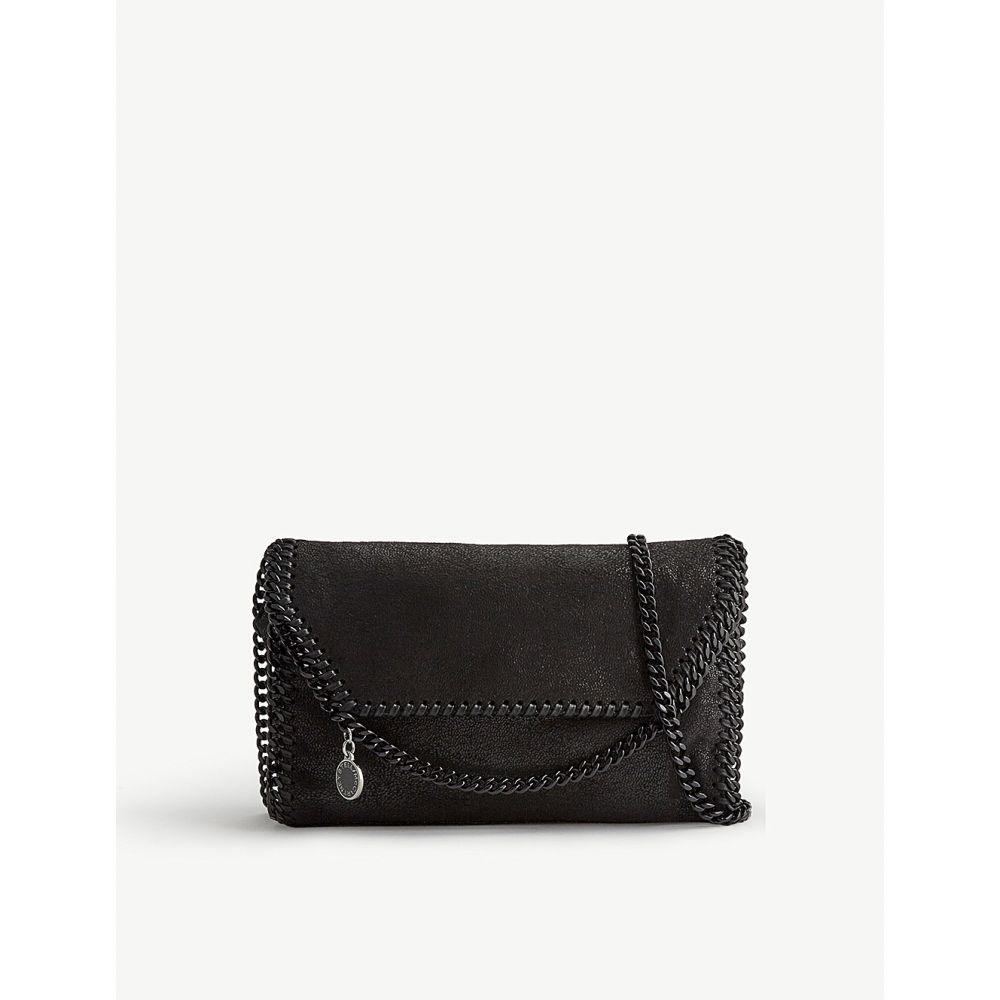 ステラ マッカートニー stella mccartney レディース バッグ ショルダーバッグ【falabella faux-suede cross-body bag】Black black