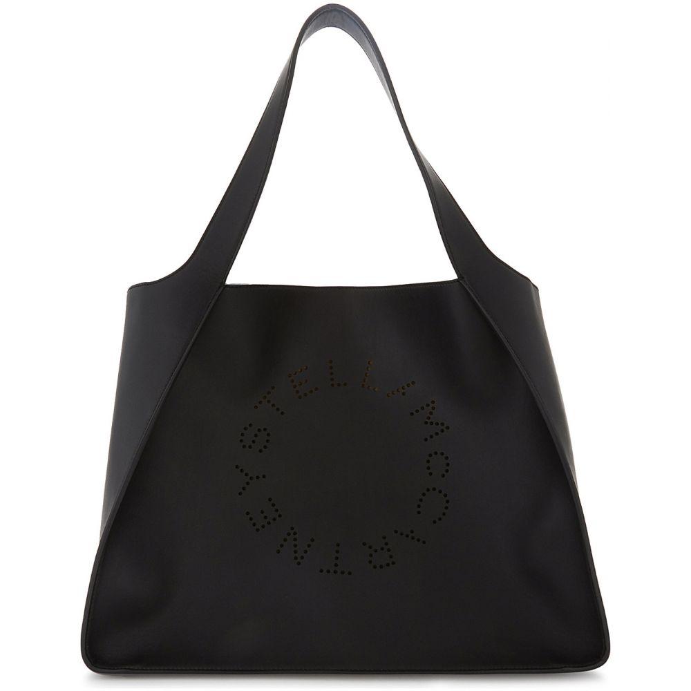 ステラ マッカートニー stella mccartney レディース バッグ トートバッグ【perforated faux-leather tote】Black