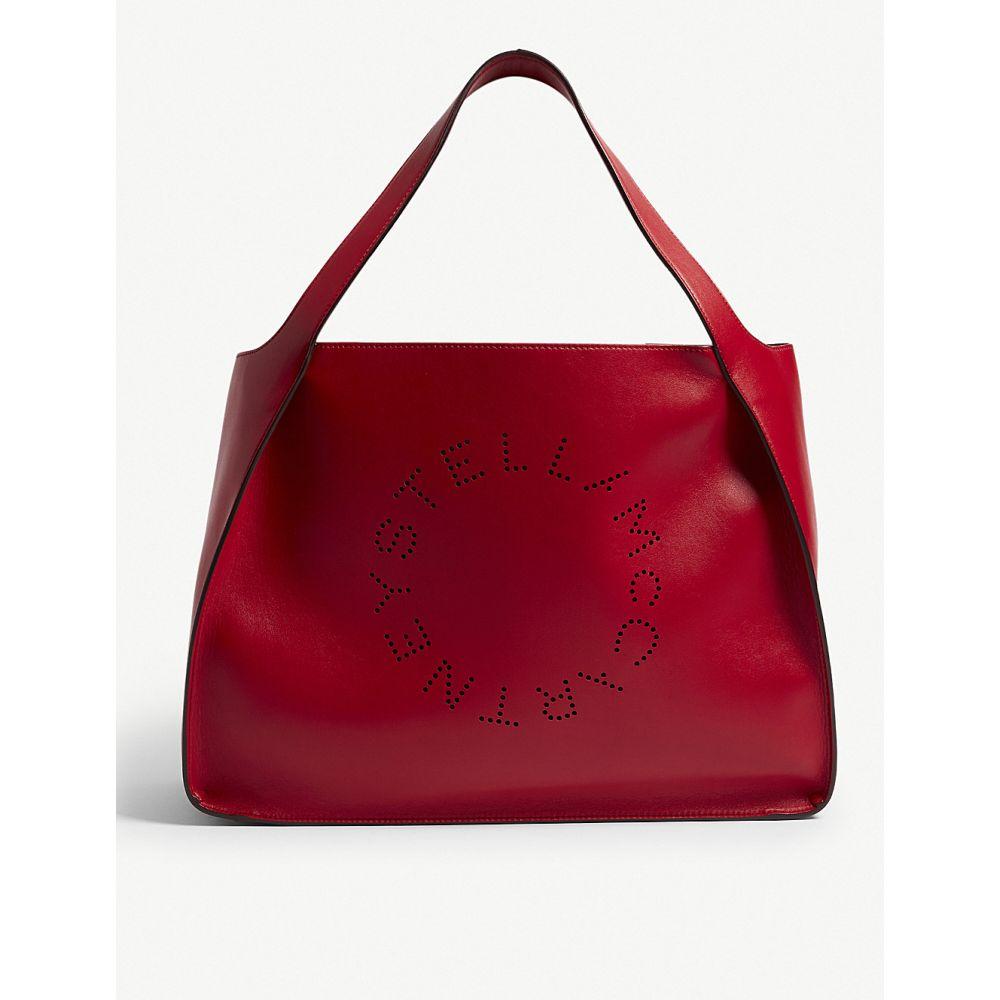 ステラ マッカートニー stella mccartney レディース バッグ トートバッグ【logo alter-nappa faux-leather tote】Lover red
