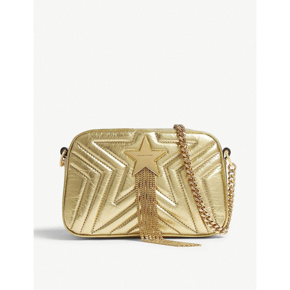 ステラ マッカートニー stella mccartney レディース バッグ ショルダーバッグ【star mini cross body bag】Gold