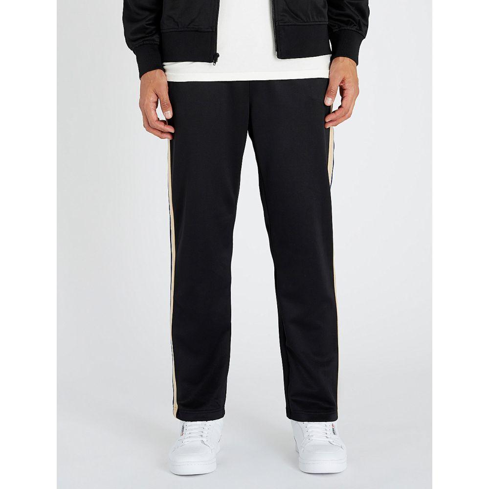 ステューシー stussy メンズ ボトムス・パンツ【side-striped jersey jogging bottoms】Black