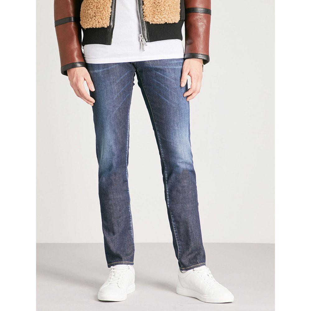 ディースクエアード dsquared2 メンズ ボトムス・パンツ ジーンズ・デニム【faded-wash slim-fit skinny jeans】Blue