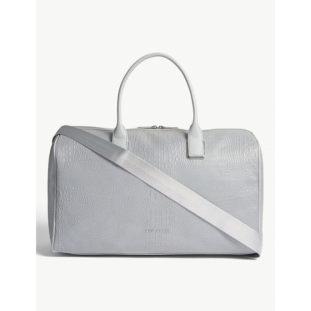 テッドベーカー ted baker レディース バッグ ボストンバッグ・ダッフルバッグ【conneli croc-effect duffle bag】Silver