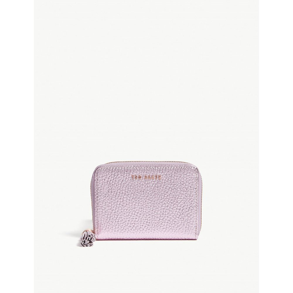 テッドベーカー ted baker レディース 財布【veritty tassel small leather purse】Light pink