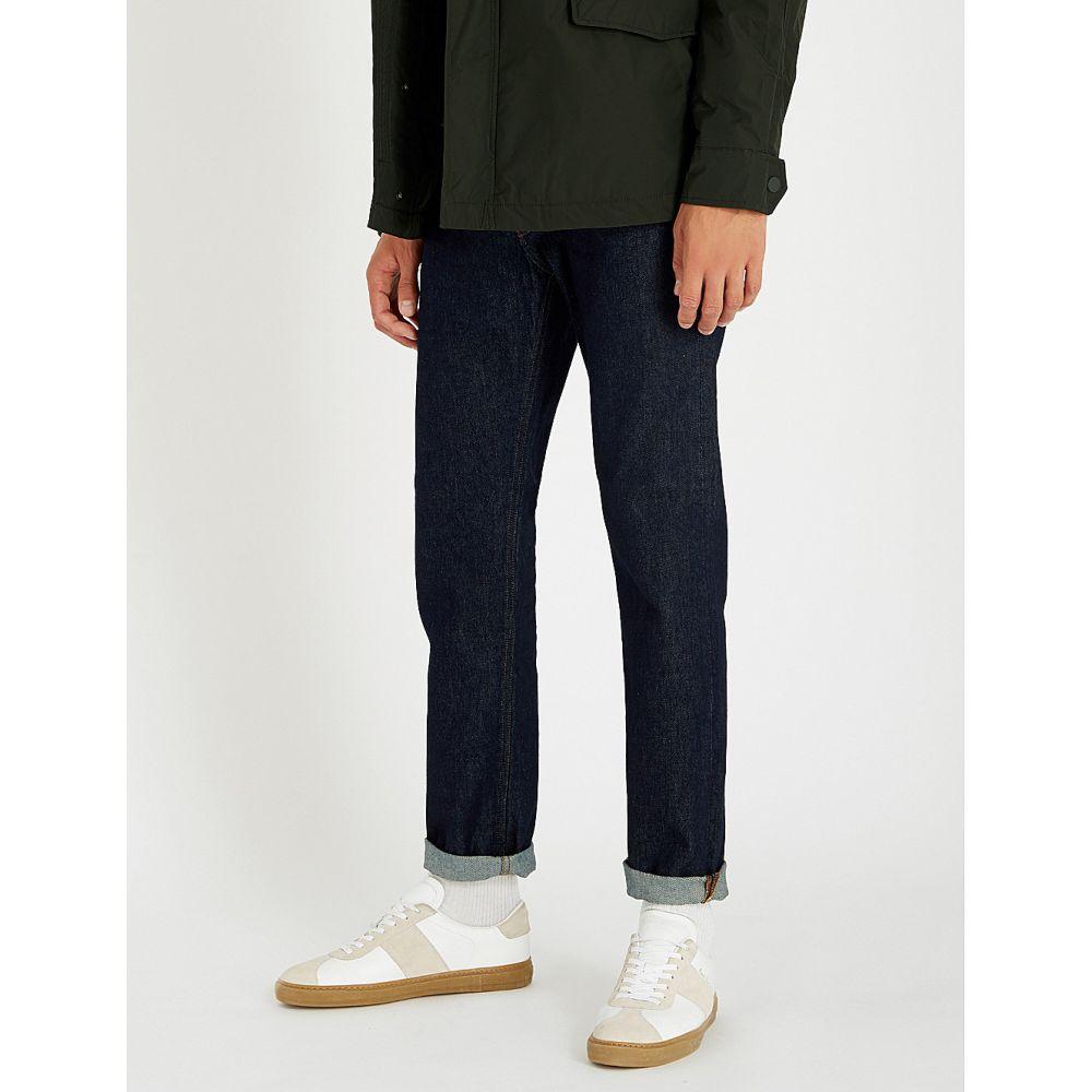 タイガー オブ スウェーデン tiger of sweden メンズ ボトムス・パンツ ジーンズ・デニム【alex regular-fit straight jeans】Midnight blue