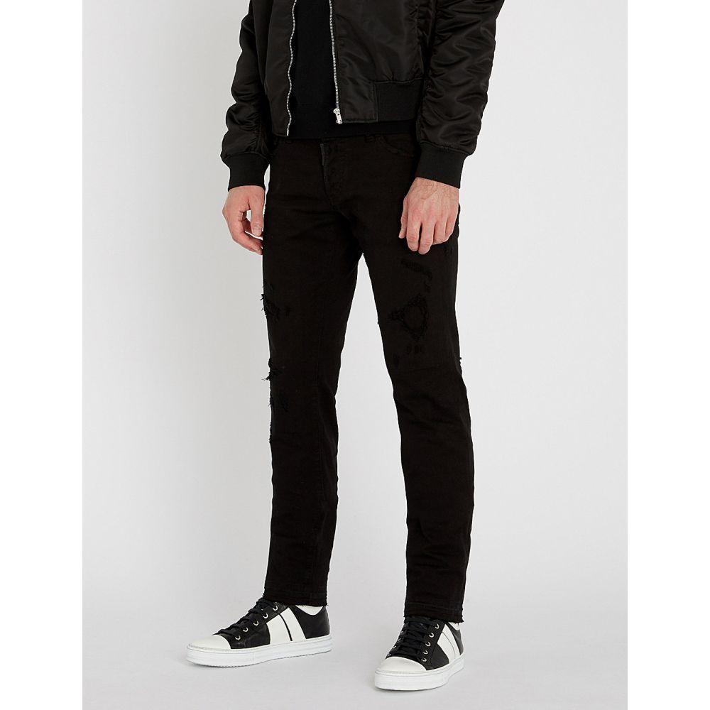 ディースクエアード dsquared2 メンズ ボトムス・パンツ ジーンズ・デニム【slim-fit straight jeans】Black