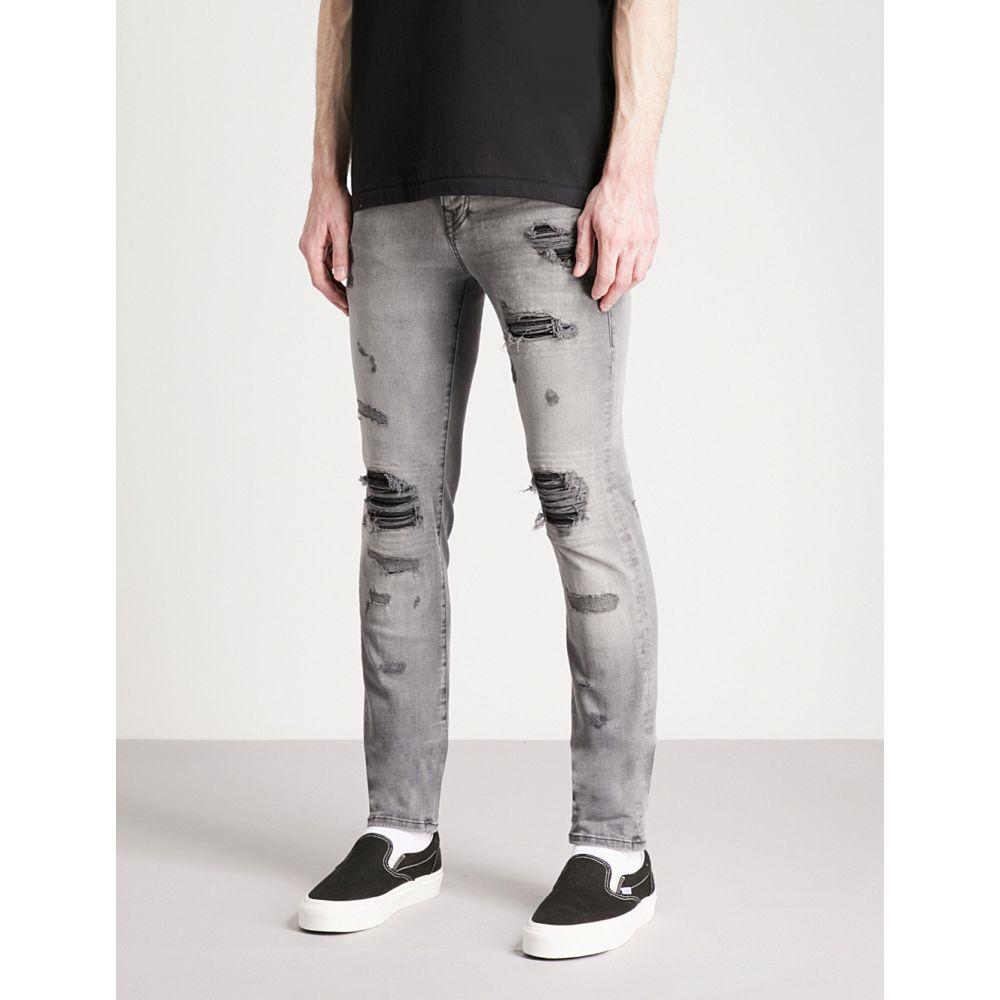 トゥルー レリジョン true religion メンズ ボトムス・パンツ ジーンズ・デニム【rocco skinny-fit jeans】Washed black