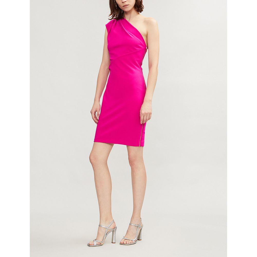 テッドベーカー ted baker レディース ワンピース・ドレス パーティードレス【bettiea one-shoulder crepe dress】Bright pink