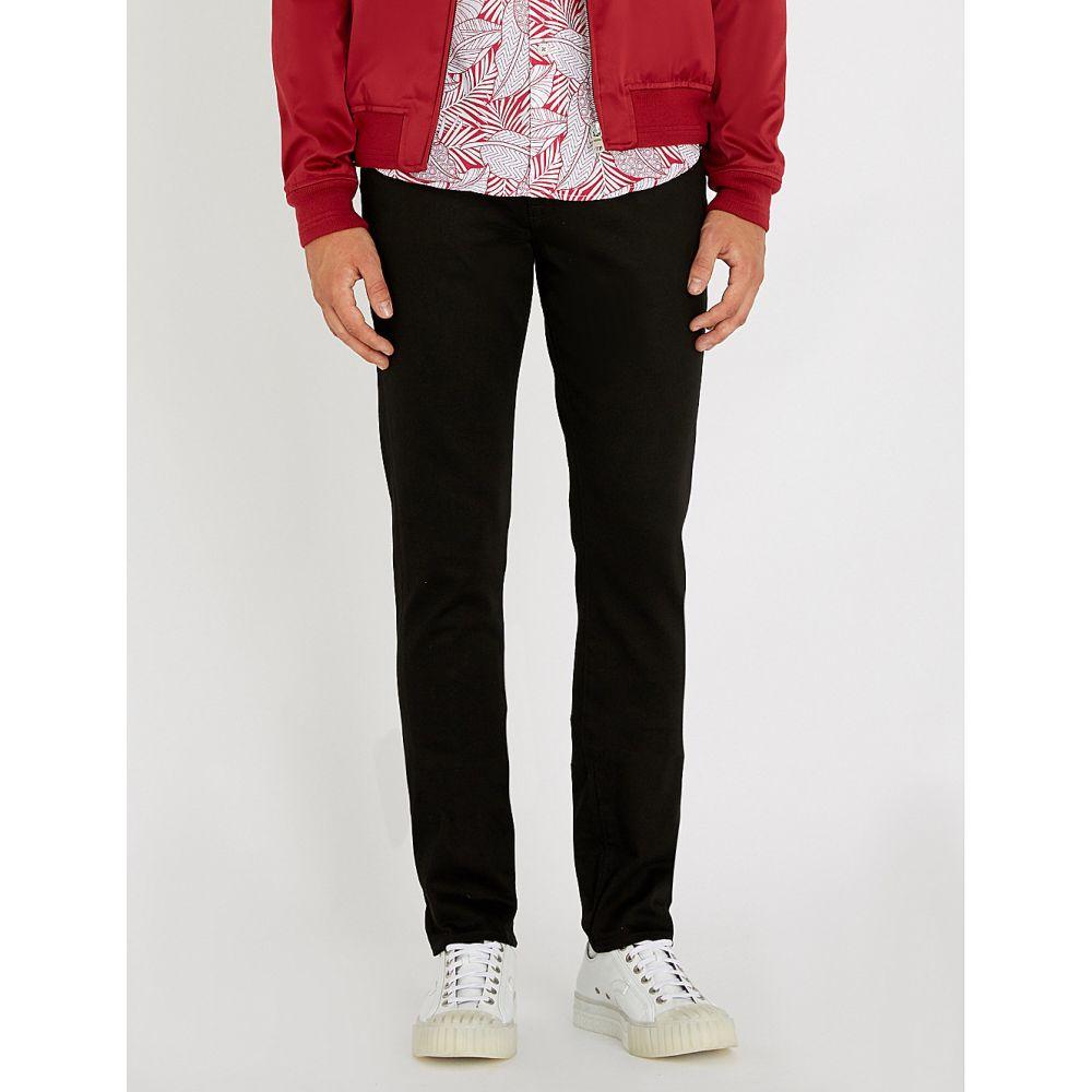 テッドベーカー ted baker メンズ ボトムス・パンツ ジーンズ・デニム【slim-fit tapered-leg denim jeans】Black