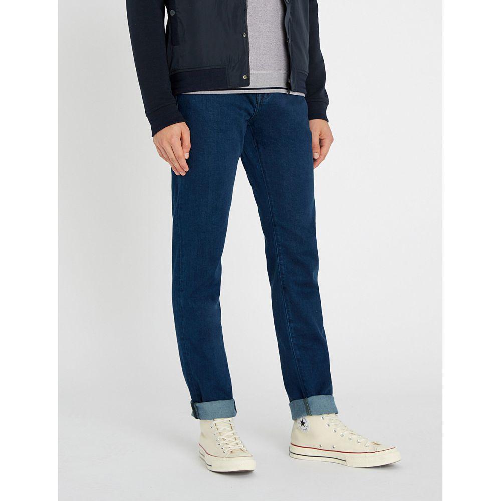 テッドベーカー ted baker メンズ ボトムス・パンツ ジーンズ・デニム【sary straight-fit tapered-leg denim jeans】Mid wash