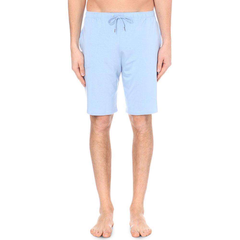デリック ローズ derek rose メンズ インナー・下着 パジャマ・ボトムのみ【basel shorts】French blue