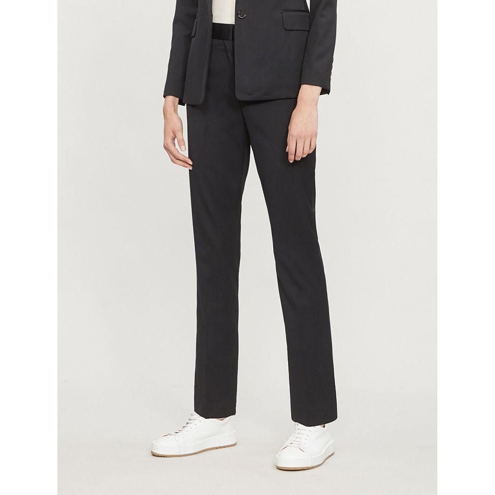 リース reiss レディース ボトムス・パンツ リース スキニー reiss・スリム【harper skinny trousers】Black stretch wool-blend trousers】Black, 七宗町:8f56c36f --- vietwind.com.vn