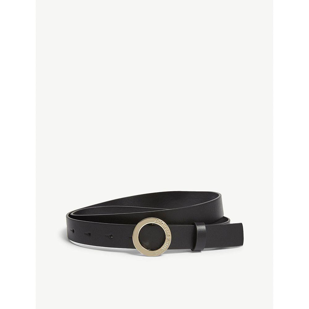 クローディ ピエルロ claudie pierlot レディース ベルト【aligato slim leather belt】Noir