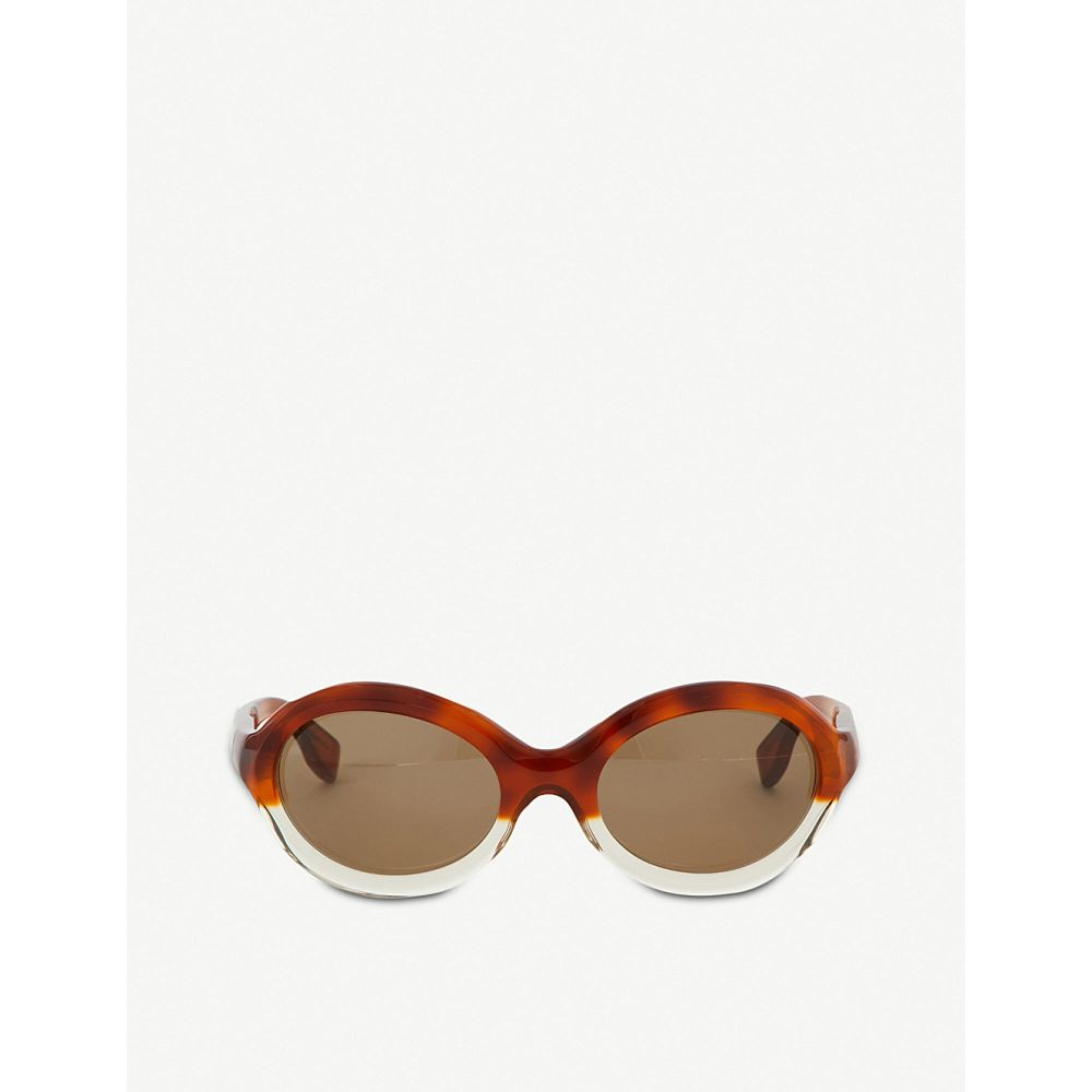 マルニ marni レディース メガネ・サングラス【me629s oval sunglasses】Green