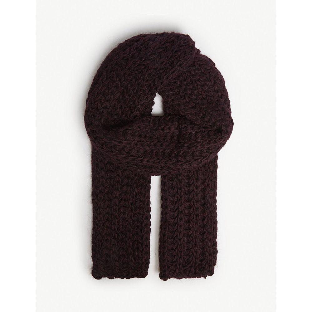 アグ ugg レディース マフラー・スカーフ・ストール【knitted roving scarf】Port