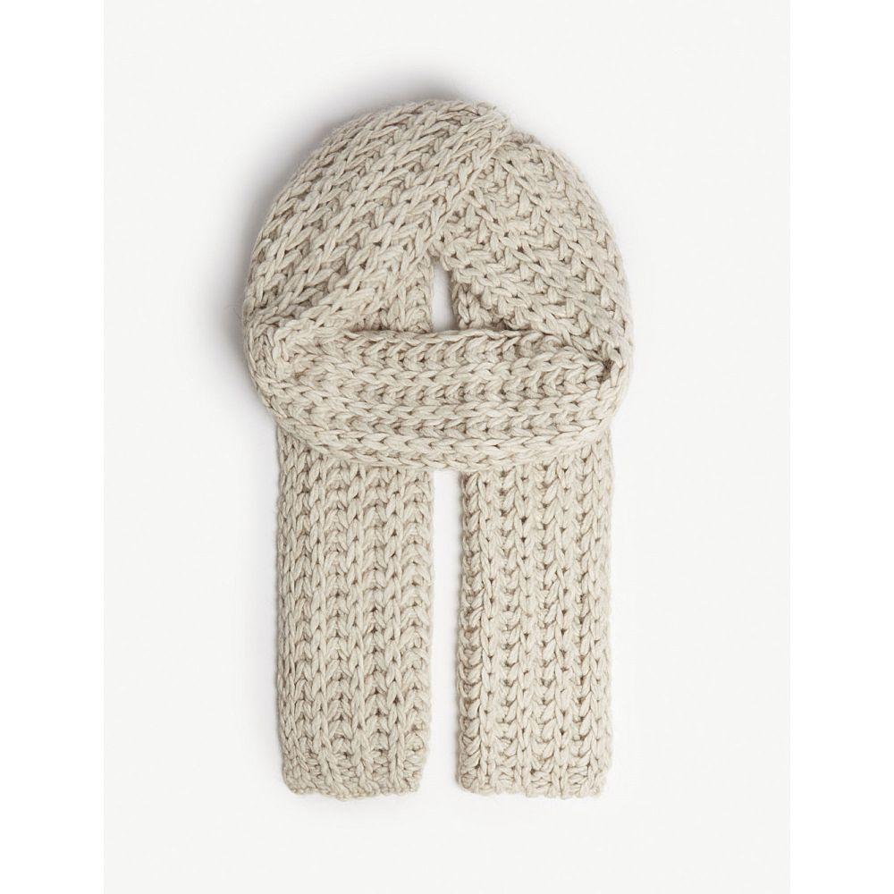 アグ ugg レディース マフラー・スカーフ・ストール【knitted roving scarf】Beige