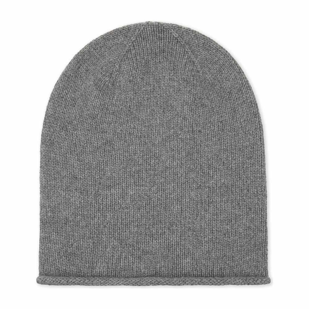 ジョンストンズ johnstons レディース 帽子【roll trim cashmere hat】Light grey