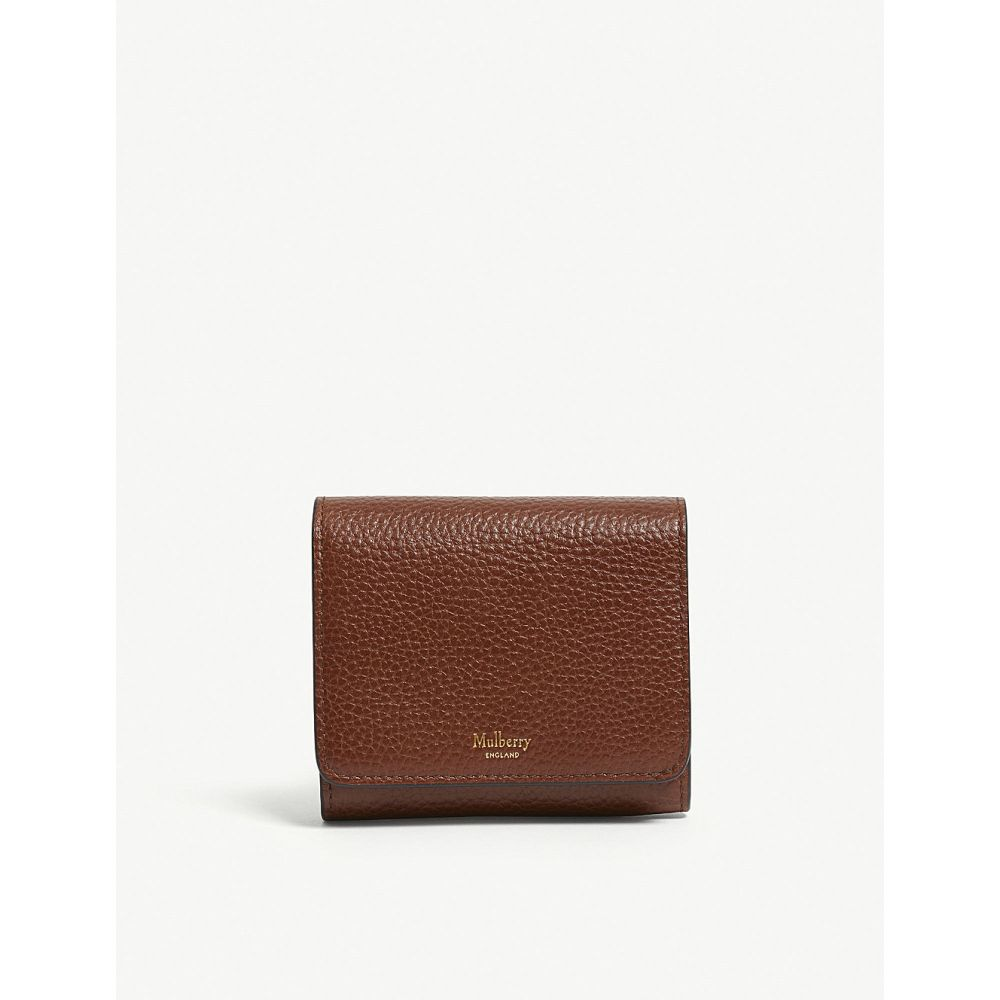 マルベリー mulberry レディース 財布【grained leather continental wallet】Oak